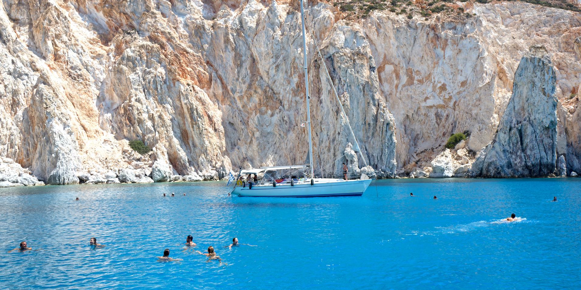 Kimolos, Polyegos Greece